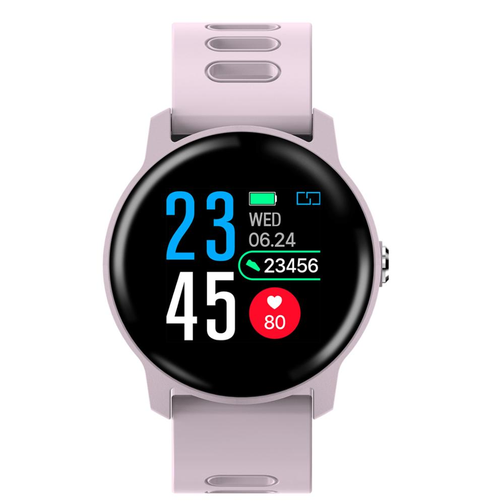 696 <font><b>S08</b></font> Smart Watch <font><b>S08</b></font> IP68 Fitness Tracker Heart Rate Monitor Pedometer Waterproof Women <font><b>Smartwatch</b></font> For Android IOS PK B57 image