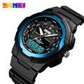Часы мужские  ударопрочные  светодиодные  спортивные  военные  цифровые  кварцевые  наручные часы  мужские часы  reloj hombre 2018 SKMEI