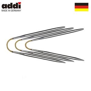 Image 5 - Addi 160 2 21cm 3piece addiCraSyTrio needle set  circular knitting needles Socks/Sleeve DIY Needle arts crafts