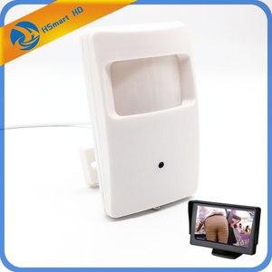 Image 1 - sony ccd 700TVL mini cro camera 1000tvl coms 139 Security PIR Box Ct Camera with Pinhol Lens camera for to monitor/TV