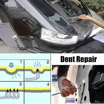 FURUIX PDR Tools Hooks Spring Steel Push Rods Dent Removal Car Dent Repair Car Body Repair Kit Paintless Dent Repair Tools set