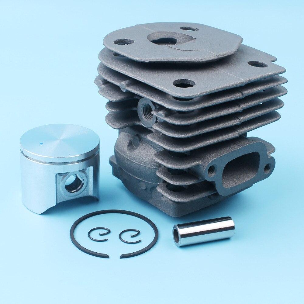 חלקי חילוף לקטנועים 47mm צילינדר בוכנה פין רינג Kit עבור הוסקוורנה 357 359 Jonsered 2159 CS 2156 CS2159 EPA המנסרים Nikasil מצופה 537 15 73 02 (3)