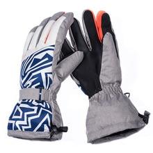 New Mens Ski Gloves Snowboard Motorcycle Riding Winter children ski Windproof Waterproof Unisex Snow