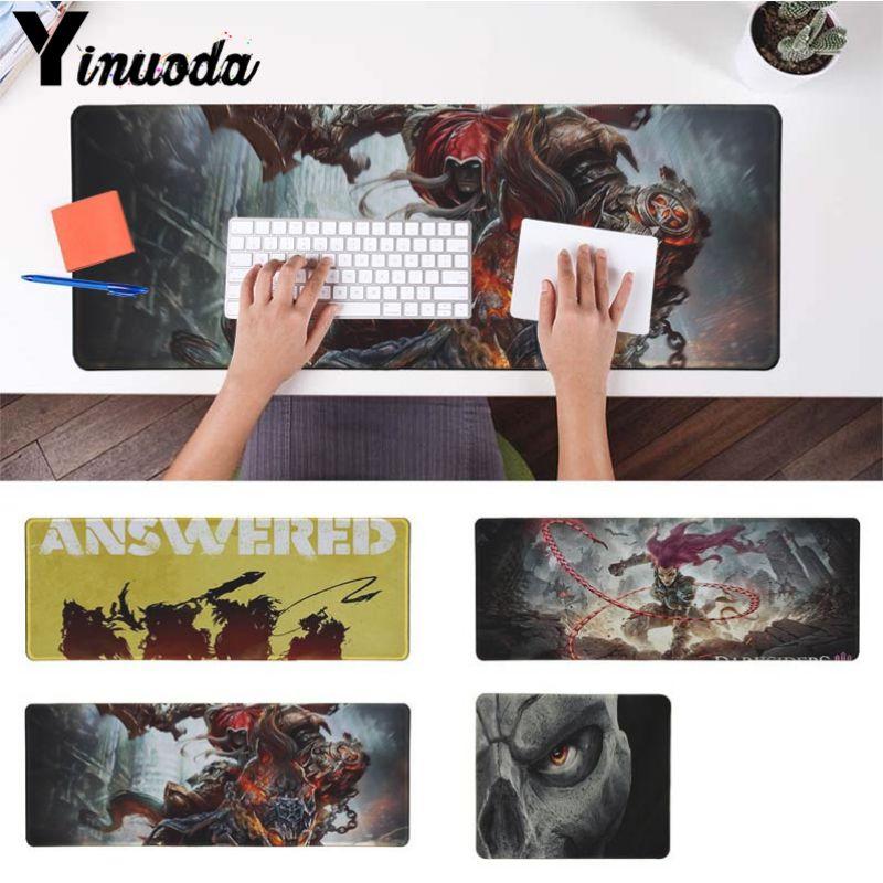 Yinuoda Darksiders офисных мышей геймер мягкие Мышь Pad Размеры для 30x90 см и 40x90 см игр мышь колодки