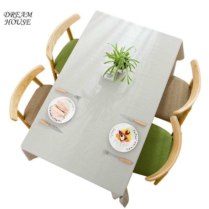 Kitchen Tea Table Decoration Ideas: 1pc Tablecloth For Rectangle Kitchen Table Decor Simple