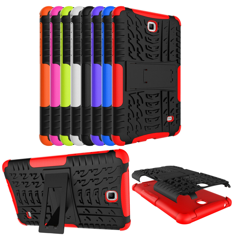For Samsung Galaxy Tab 4 7.0 SM T230 Case Cover Coque T231 T235 Heavy Duty Rugged Impact Hybrid Case Kickstand Protective Cover