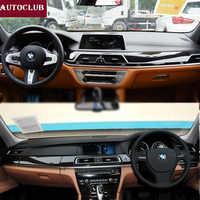 For BMW 7 Series E65 F01 G11 G12 Leather Dashmat Dashboard Cover Pad Dash Mat Sun shade 2002 2008 2009 2010 2012 2013 2014 2018