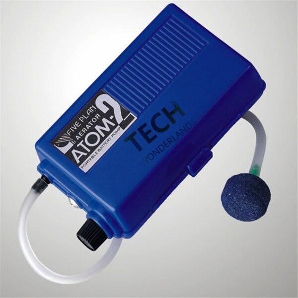 Atman portable <font><b>battery</b></font> air pump Aquarium Oxygenated Live Bait Fishing <font><b>Aerator</b></font> ATOM-2
