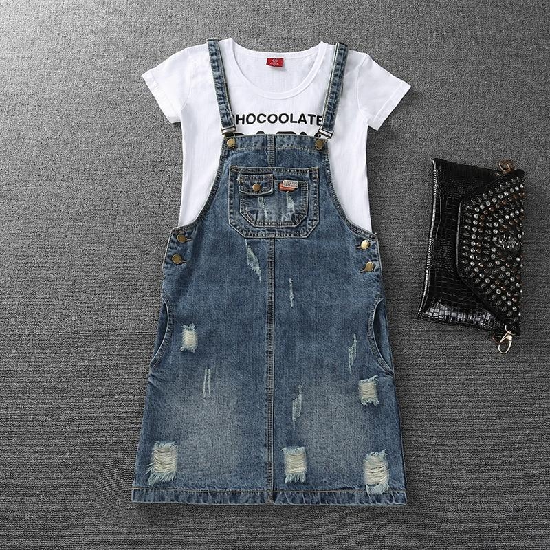 Look de famille filles robe Denim maman et fille robe correspondant mère fille vêtements maman et moi vêtements grande taille 3