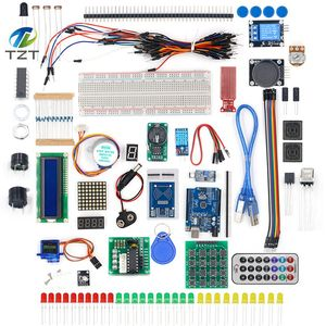 Image 1 - TZT أحدث عدة بداية تتفاعل لاردوينو UNO R3 نسخة مطورة التعلم جناح مع صندوق البيع بالتجزئة