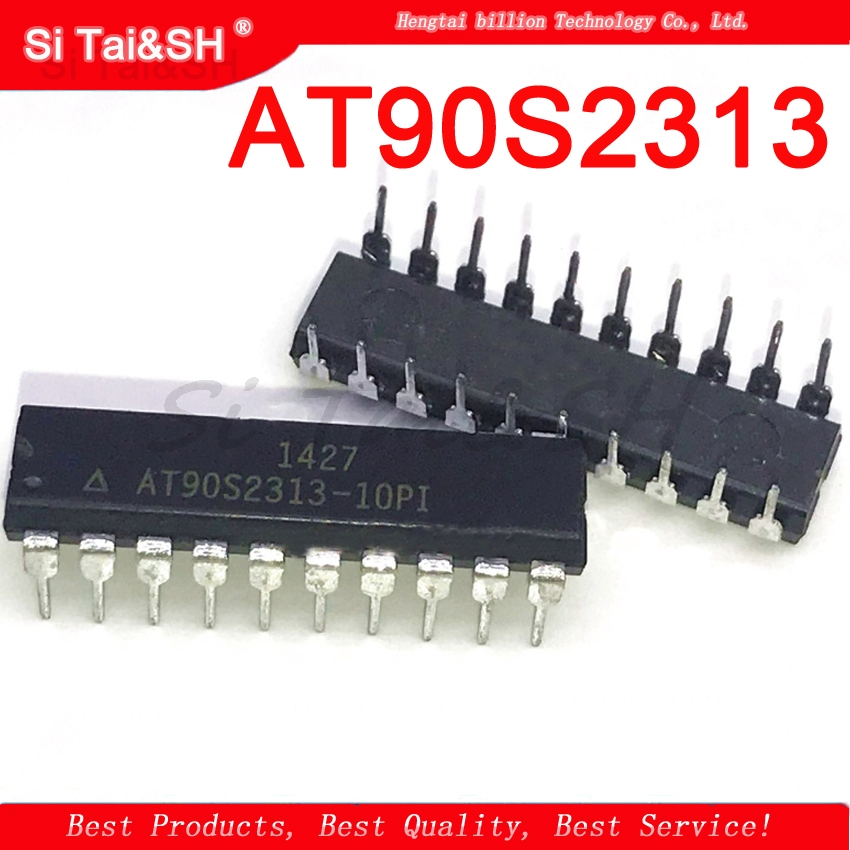 1PCS  AT90S2313 AT90S2313-10PI  DIP-20 In Stock   Can Pay