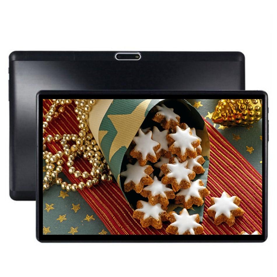 Планшетный ПК 10 дюймов Octa Core оригинальный мощный Google Android 32/64 GB ips, 7, 8, 9, 10, Две сим-карты Телефонный звонок Tab телефон ПК Планшеты 1920x1200