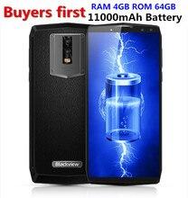 Blackview P10000 Pro 11000 мАч Лицо ID 4G мобильный телефон 5,99 «ram 4 Гб rom 64 Гб 16MP MTK6763 Восьмиядерный Android 7,1 OTG Смартфон
