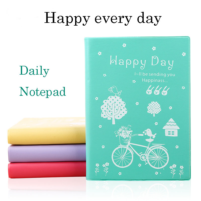 JUGAL plan Cute Schedule Book filofax Diary daily monthly Weekly Planner Notebook agenda planner organizer School Stationery kicute 2017 2018 calendar a4 leather notebook schedule daily weekly monthly planner agenda organizer diary stationery gift