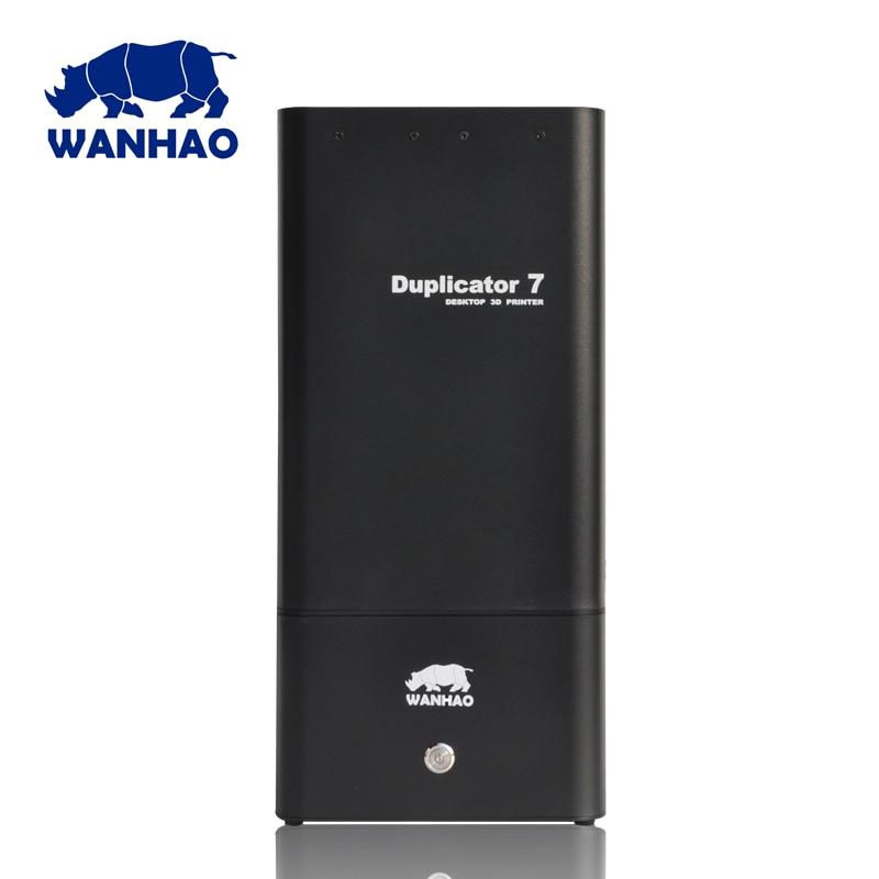 Wanhao duplicator 7 DLP/SLA 3d printer, high quality model printing effect