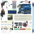 Starter Kit Для Обновленной Версии arduino UNO R3 базовый комплект LCD 1602 мега Макет 2560 Проект DIY высокое качество