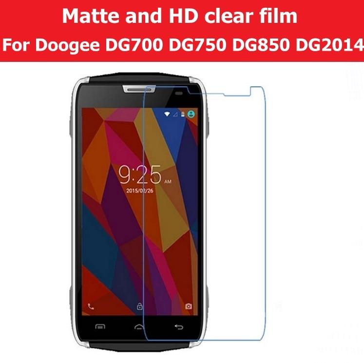 Screen Protector Anti-Glare Matte Film For Doogee Titans2 DG700 Iron Bone DG750 Hitman DG850 Turbo DG2014 HD Clear Glossy Film