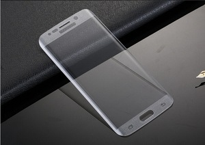 Image 5 - RONICAN S6 edge Full Curved 3D Tempered Glass Screen Protector Protective Film Pelicula de vidro for Samsung Galaxy S6 Edge plus