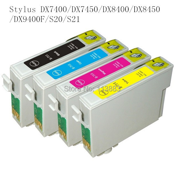 71T0711 compatible ink cartridge for <font><b>EPSON</b></font> Stylus DX7400/DX7450/DX8400/DX8450/DX9400F/S20/S21Office B40W/<font><b>BX300F</b></font>/BX300FW/BX310FN image