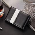 Stainless Steel Pocket ID & Credit Card Holder Case Metal Name Card Holder Metallic Business Card Case