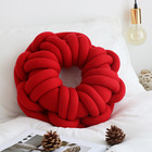 New Handmade Knotted Pillow Bed Cushion Decorative Throw Pillow Chair Car Home Decor Pillow 40cm