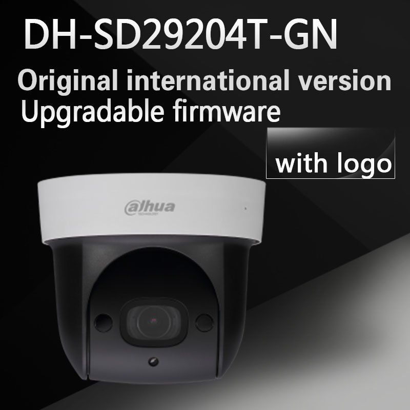 Dahua DH-SD29204T-GN replace DH-SD29204S-GN IP 2MP Mic built in Network PTZ Dome zoom POE Camera SD29204T-GN replace SD29204S-GN original english firmware dahua dh sd29204t gn replace sd29204s gn 2mp network mini ir ptz dome ip speed dome 4x optical zoom