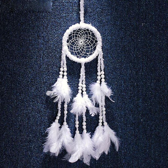 What Stores Sell Dream Catchers Aliexpress Buy Hot Selling Dreamcatcher White Worsted 22