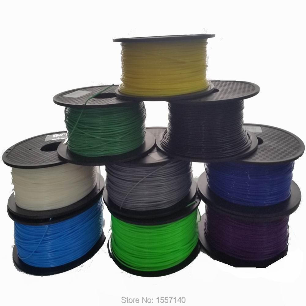 Hot Sale ! 20 Colors 6KG 3D Printer Filament ABS 1.75mm 3D Printing Materials For 3D Pen 3D Printer Wholesale Price 3d printer filament 50m 5 colors 10m color abs pla 1 75mm 3d filament printing materials for 3d printing pen 3d printer