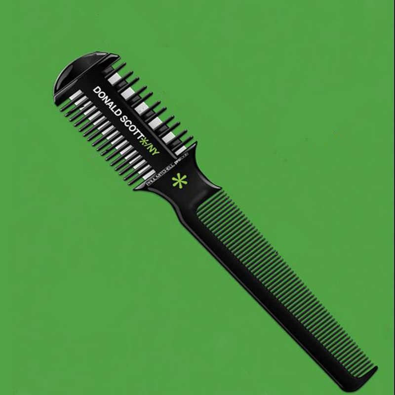 1 шт. Расческа для стрижки расческа для волос с лезвием кисти с лезвиями лезвия для стрижки Истончение триммер для парикмахерских инструменты для парикмахерских