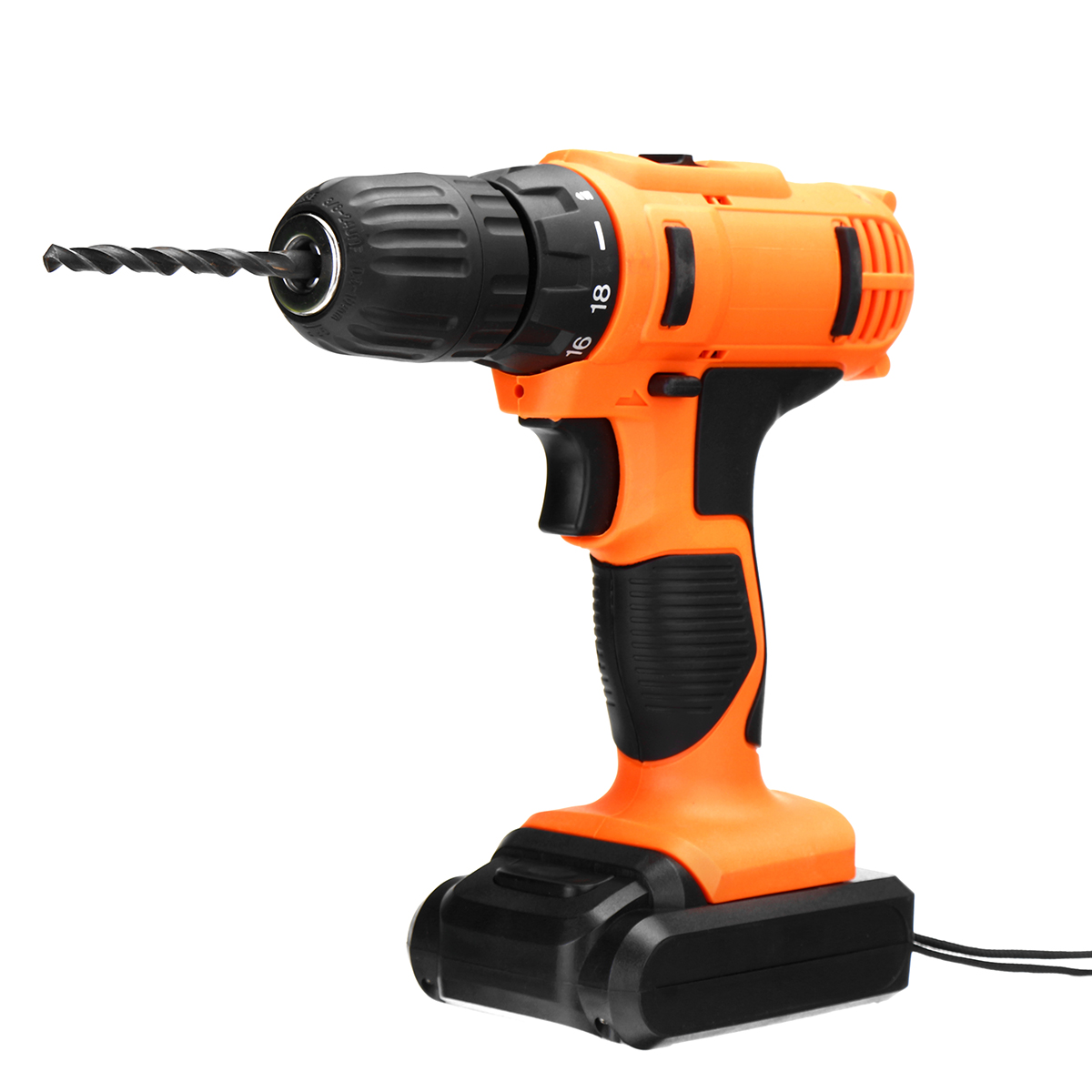18V 20N.m DC Lithium-Ion Battery 2-Speed Electric Cordless Drill Mini Screwdriver Wireless Power Driver 18v dc lithium ion battery cordless drill driver power tools screwdriver electric drill with battery included
