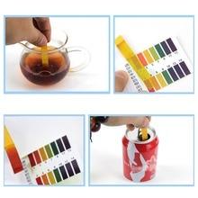80 тест-полоски PH измеритель pH тестовый карандаш кислотности рН-метр тестер качества воды тест точности 0.1pH портативный измеритель влажности Кислотность рН метр may8