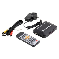 Mini Multifunctional 1080P HD USB HDMI Media Player Box Support SD MMC TV Videos SD MMC