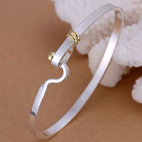 B073 Trendy Silver Plated...