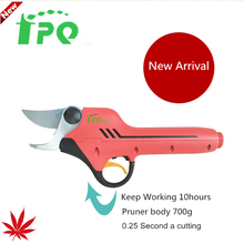 2017 new FPQ818 Advance function power pruner orchard vineyard,garden electric pruner scissors,kiwi tree pruner