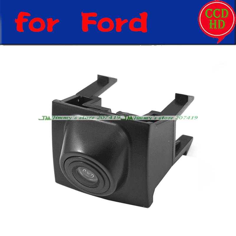 car front positive view camera for Ford Mondeo front grille camera ccd HD night vision waterproof wide angle parking assist