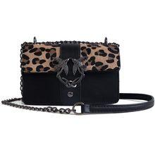 eab0d13353 Sacs de marque célèbre pour les femmes 2019 sacs à main de luxe femmes sacs  Designer léopard noir rouge femme PU cuir bandoulièr.