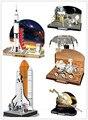 CubicFun DIY ручной работы 3D Головоломки космический корабль Сатурн Apollo Лунного Модуля, детские игрушки Творческие, diy игрушки для взрослых/детей