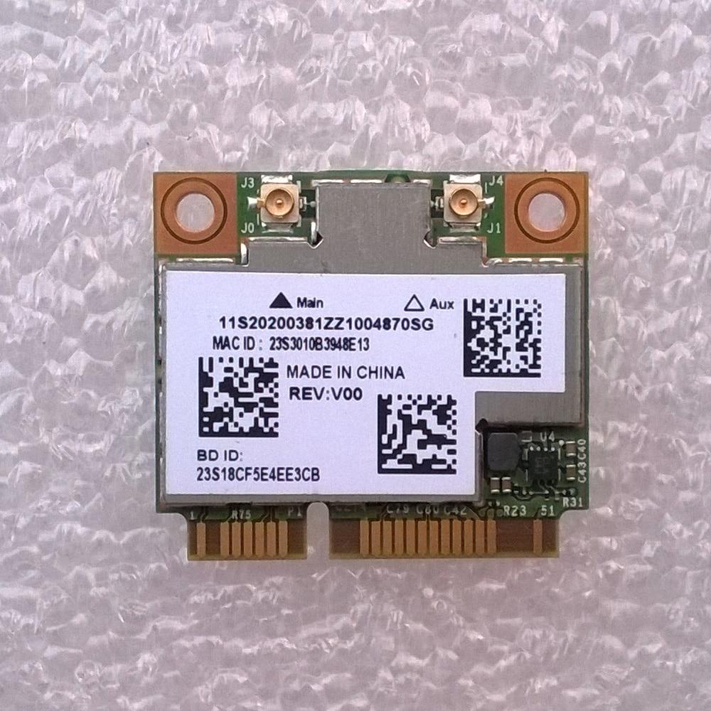 New Original Ltn BCM4352+20702 2x2AC+BT4.0 HMC WLAN Card For Lenovo IdeaPad Y410p U430/U530 TOUCH Series, 20200381