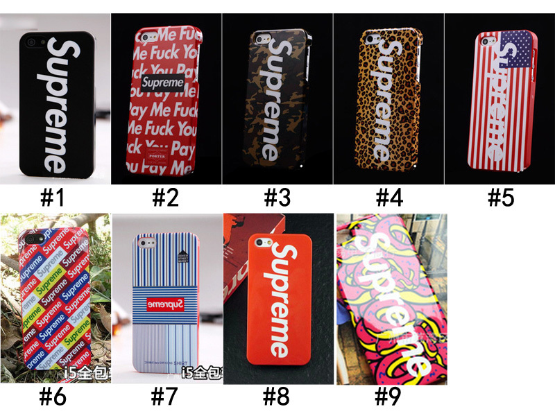 DHL EMS free shipping 2014 news supreme cell phone case