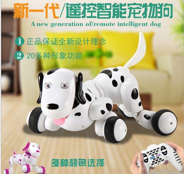 Fernbedienung tier spielzeug RC Roboter Smart Hund 777 338S RC Simulation Hund Multi Funktion Spielzeug hund sound bewegen geschenk VS TT320 dinosaurier - 4