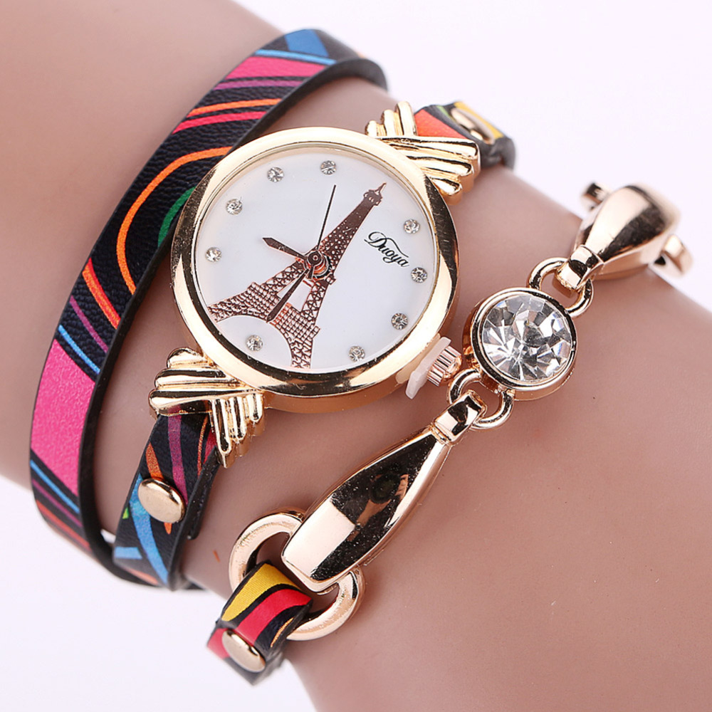 Aliexpress.com : Buy Women Leather Wrist Watch Womens ...