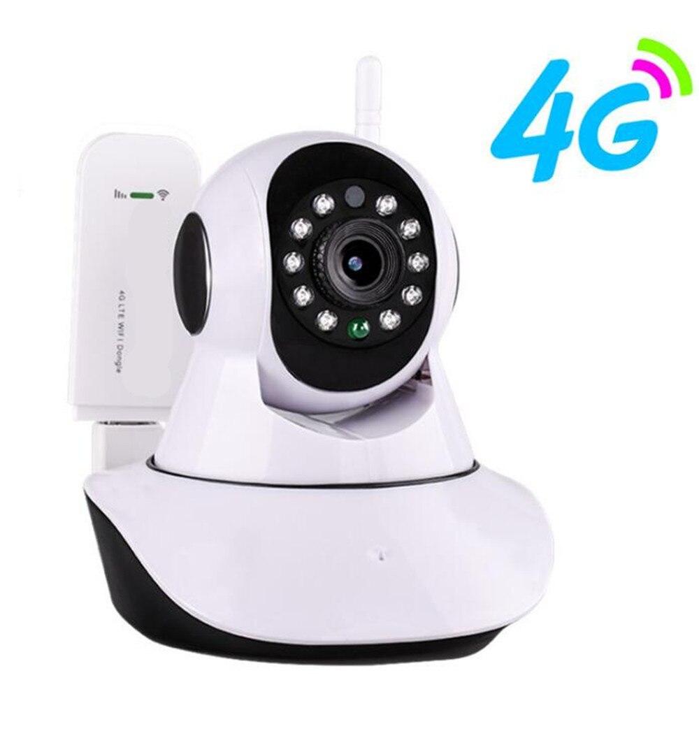 3G/4G/WIFI 2MP 1080 P interphone sans fil caméra IP PTZ IR caméra de Vision nocturne