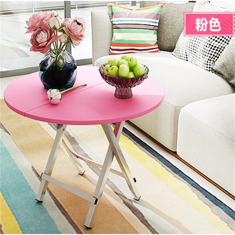 70*70*62.5CM Portable Folding Dining Table Outdoor Round Camping ...