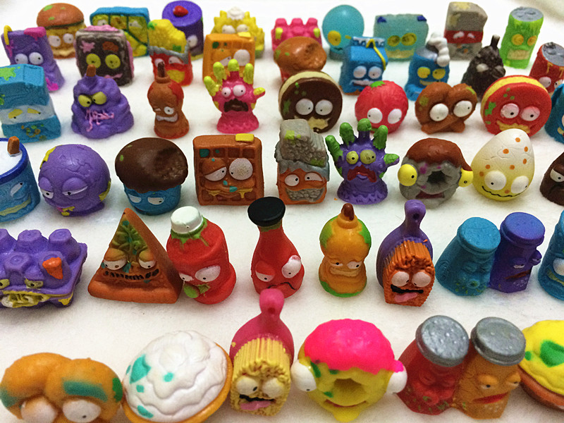 20Pcs/lot O for U Shop Original The Grossery Gang Mini Action Toys Figures Popular Kid's Playing Model Dolls Christmas Gift Toy lps pet shop toys rare black little cat blue eyes animal models patrulla canina action figures kids toys gift cat free shipping