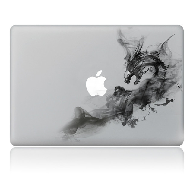 Cool Smoke Dragon Vinyl Decal Partial Art Stickers Skin For - Cool vinyl decal stickers