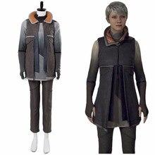 Детройт: стать человеком Кара Косплэй костюм AX400 костюм беженцев форма Escape повседневная одежда Хэллоуин маскарад индивидуальный заказ