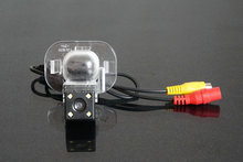 HD Car Rearview Rear view Back up camera For HYUNDAI VERNA With Parking Line Waterproof Night Vision 4LED