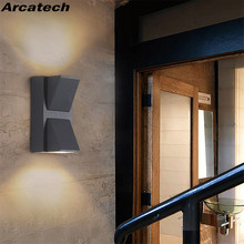 LED Outdoor Waterproof Wall Lamp Balcony Aisle Creative Cour