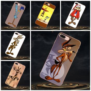 Silicone Transparent Cover Cases For Galaxy A3 A5 A7 On5 On7 2015 2016 2017 Grand Alpha G850 Core2 Prime S2 I9082 Wile E Coyote image