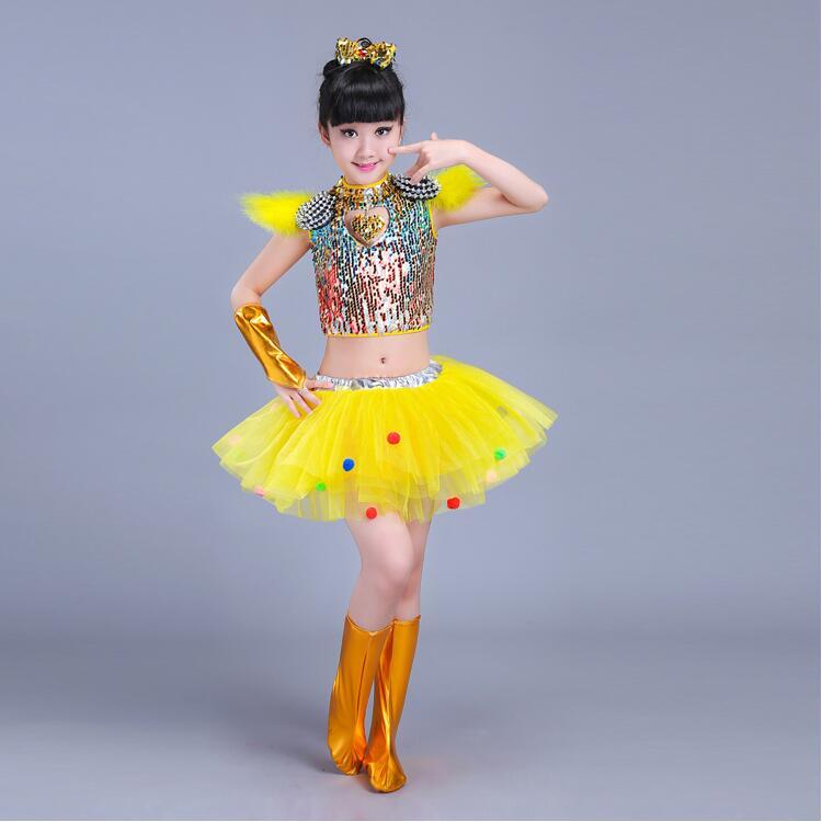 Детская одежда с блестками для бальных танцев, джаз, хип-хоп, сценическая одежда, костюмы для выступлений, одежда, топ, рубашка, шорты, сценическая одежда для мальчиков и девочек, танцевальные костюмы - Цвет: Черный